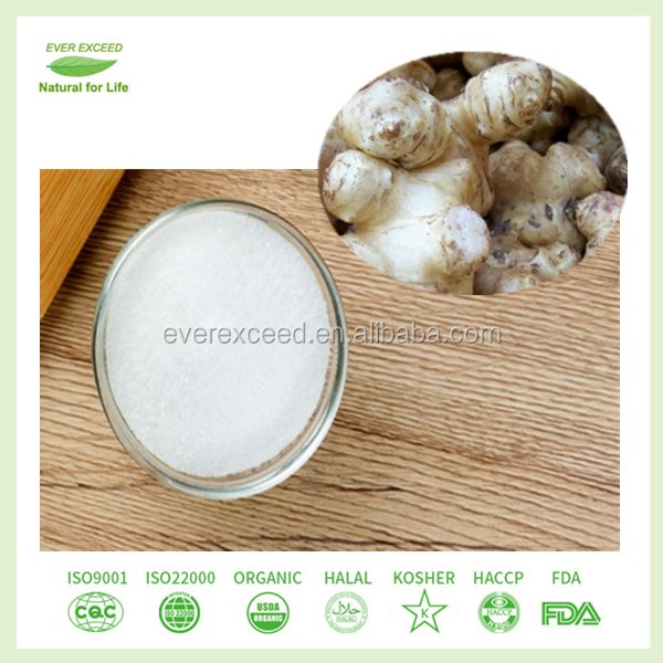 Kosher FDA certified Jerusalem Artichoke extract, Chicory extract conventional and organic inulin