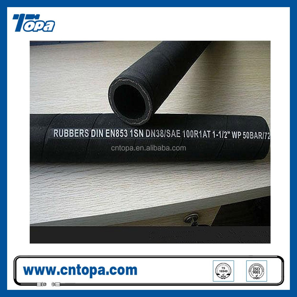 Italy Fuel high pressure flexible 1sn r6 hose