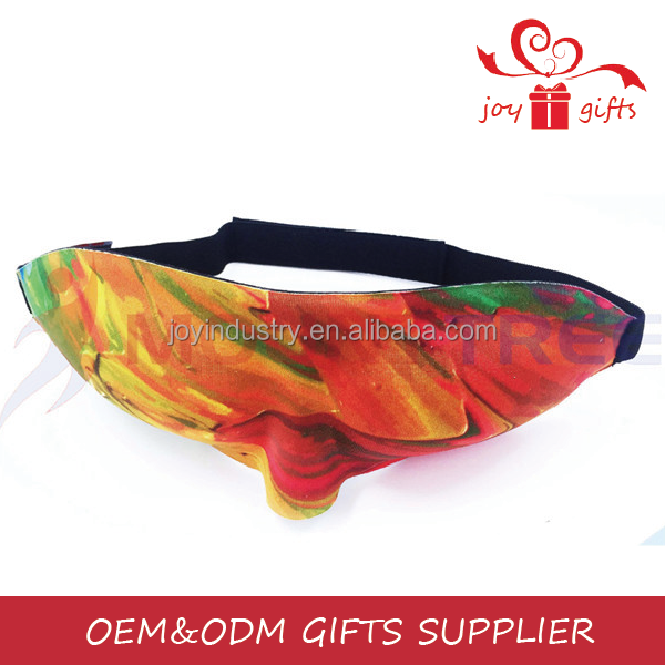 J072 Logo Printed Customized Sleeping Eye Mask in stock for sale