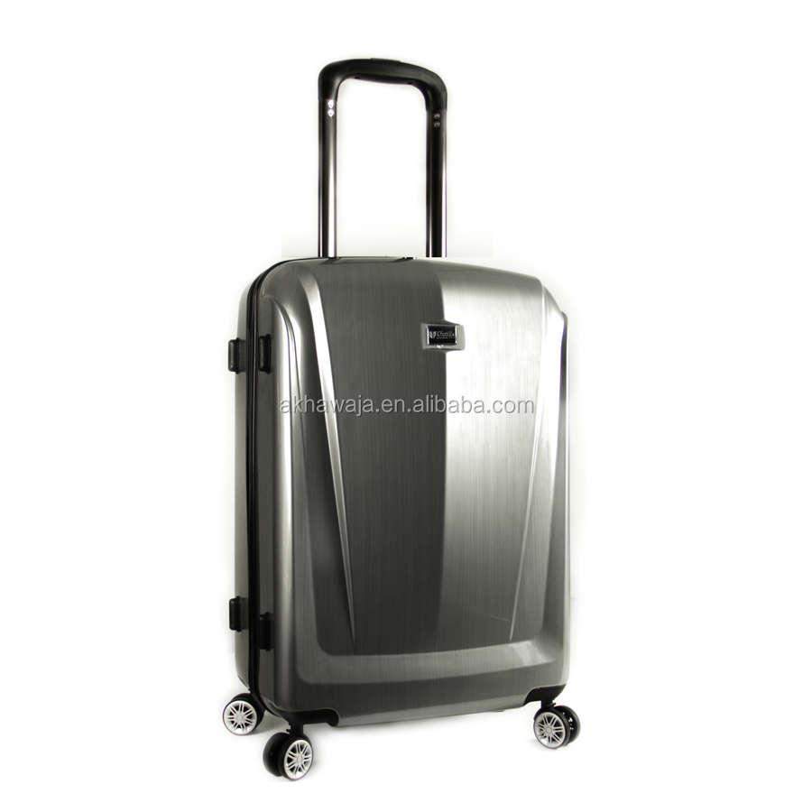 Newest suitcase 2 pieces air express hard side pc luggage set