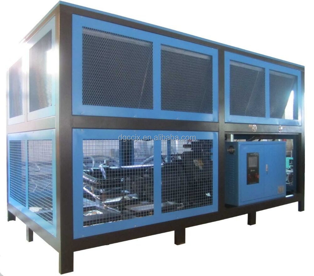 25HP Air-cooled Chiller 220V 380V 415V 67500Kcal/Hr High quality for plastic industry air water cooler distilled water