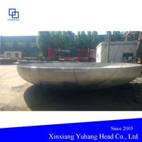 Stainless steel elliptical head for pipe fittings and pressure vessels
