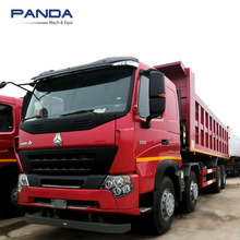China brand SINOTRUK 371hp HOWO 50 ton used dump truck for sale