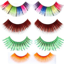 Colorful feather eyelashes false with competitive price siberian mink lashes wholesale very natural