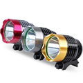 Wild Fishing 1200LM Waterproof 18650 Highlight 5W Cycling Handle Aluminum Light