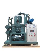 Swtich Oil Purifier, Phosphate Ester Fire-Resistance Oil Filtration, Dirty Oil Filtration System