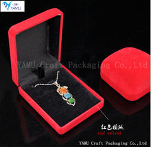 Factory Customized Plastic Gift Box Jewelry Packaging Customized Velvet Gift Box
