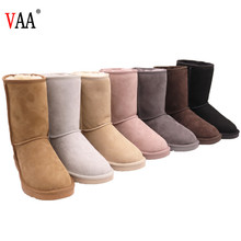 5825 Free Samples Natural Wool Antiskid EVA Sole Sheepskin Boots Women Snow Boots