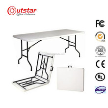 Banquet Squareness Outdoor Portative Folding Plastic Table