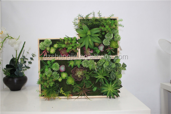 Y13 Decorative Flowers & Wreaths , guangzhou manufacturer artificial plastic plant wall