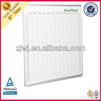 Wall mounted school dry erase soft white board
