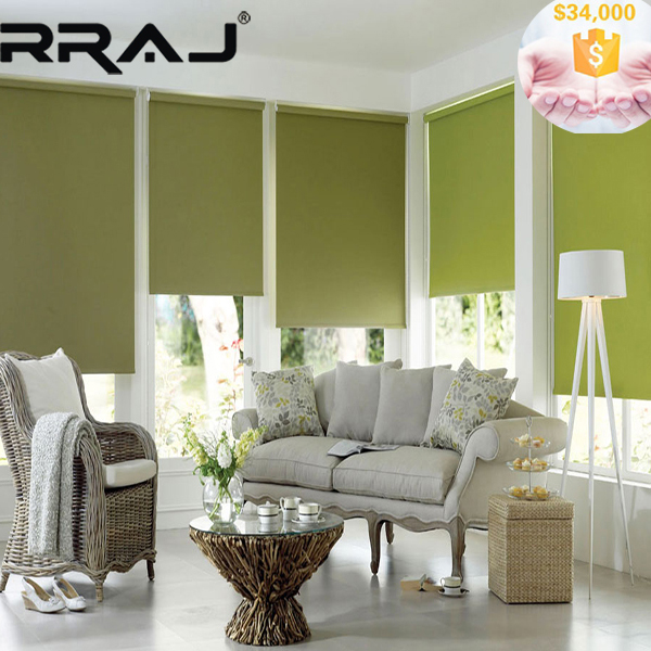 Rraj Roll System Polyester Blinds Custom Made Window Blinds