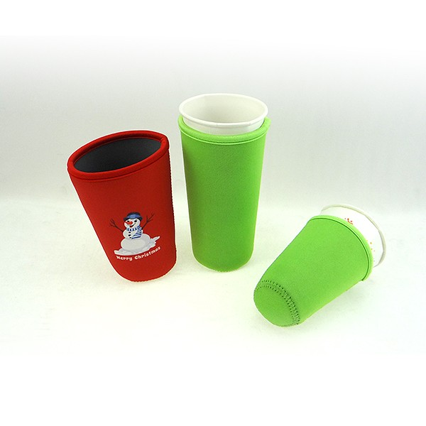 Neoprene custom coffee cup sleeve