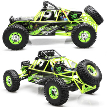 4WD 35Mph 1:12 RC Hobby Cars Wltoys 12428 4x4 High Speed Electric Remote Control RC Car