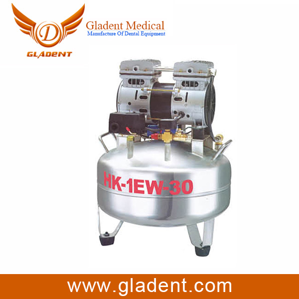Foshan Gladent 45 kw 60 hp direct driven double screw kompresor angin