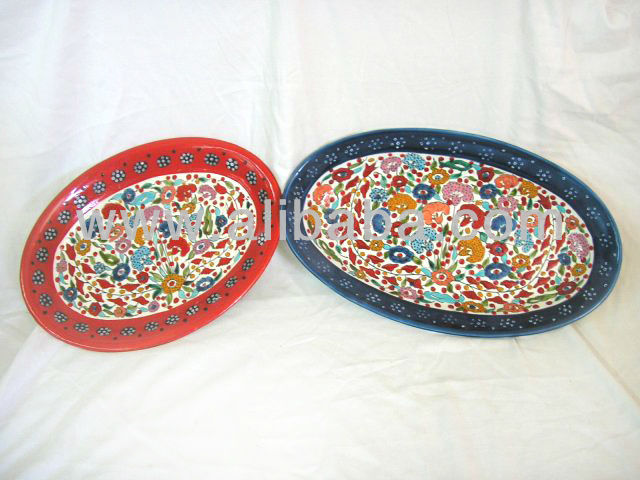 plate pottery
