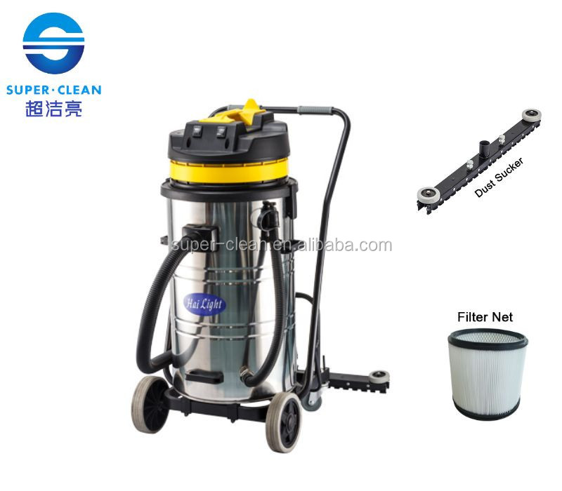 80LCommercial Dry Vacuum Cleaner With Squeegee