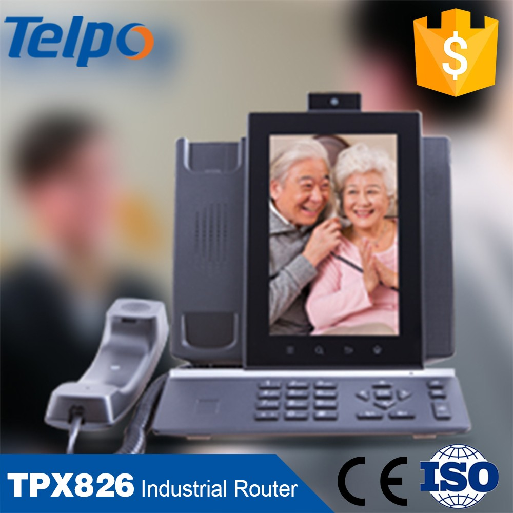 China Factory Sky Case Landline Telephone VoIP Desk Phone With Bluetooth