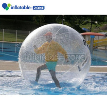 one time inflate bubble ball water, inflatable water walking ball inflatable toys