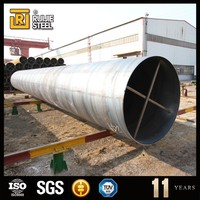 welded steel pipe price , ms iron tube best sell ssaw steel pipe 3lpe coating