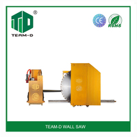 concrete brick wall saw cutting machine/manual wall saw machine/used concrete wall saw for sale