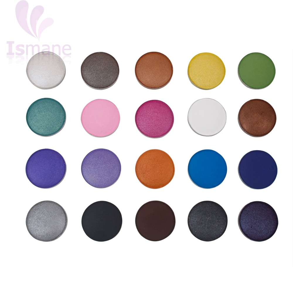 New Brand Makeup Cosmetic Make Up shimmer White Pink Blue golden single color Eye Shadow
