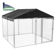 6x10x6 welded wire mesh large outdoor pet cage