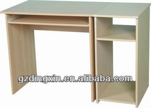 wood table top computer desk(DX-8520)