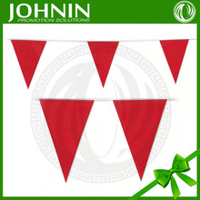 PVC colorful Custom Printed Marking Flags triangle flag bunting