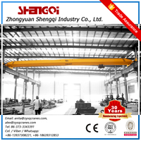 Low Energy Consumption Electric Single Track Light Duty Rail Bridge Overhead Crane 5 T