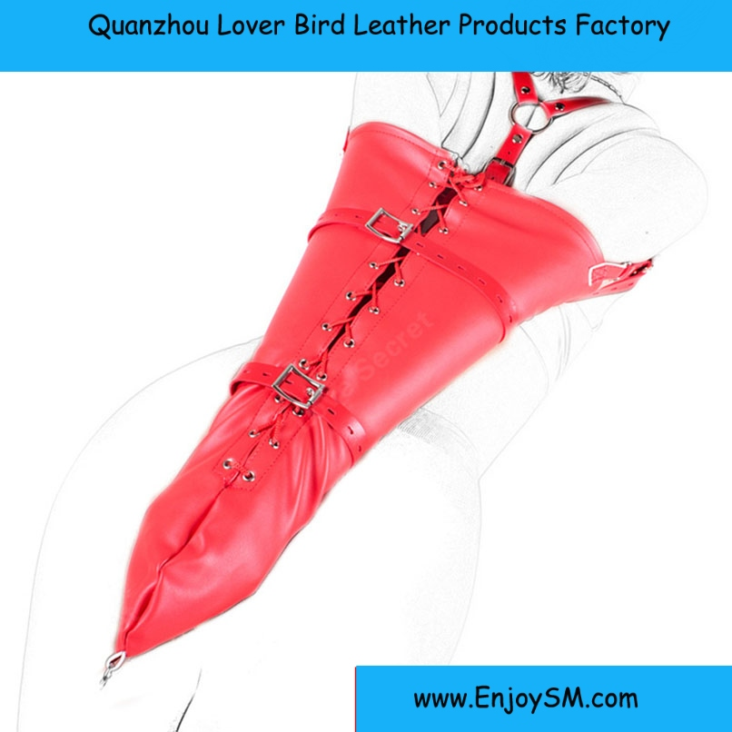 Adult Sex Bondage Fetish Sex Toy for Couples Soft Leather Arm Binder Sexy Slave Fetish Armbinder Glove Women Restraint Sex Toy