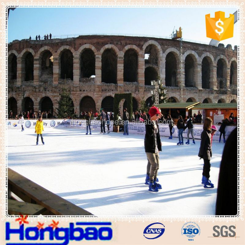 ice hockey dovetail puzzle sheet,HDPE plastic dasher board Indoor Soccer Facilities,hdpe skating sheet
