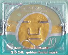 Q10 collagen 24K gold crystal facial mask
