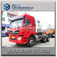 NORTH BENZ tractor truck 6*4 (Flat Top) truck tractor,international tractor truck head for sale
