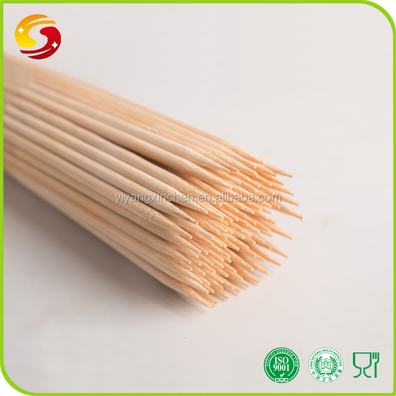 China factory price professional heat resistant round bamboo sticks