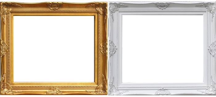 Art Work Display Gold/Silver/White Big Gallery Picture Frames