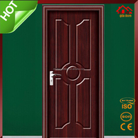 PVC021 Latest Design Interior MDF Room PVC Panel Door