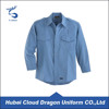 Long Sleeves Blue Shirts Security Guard