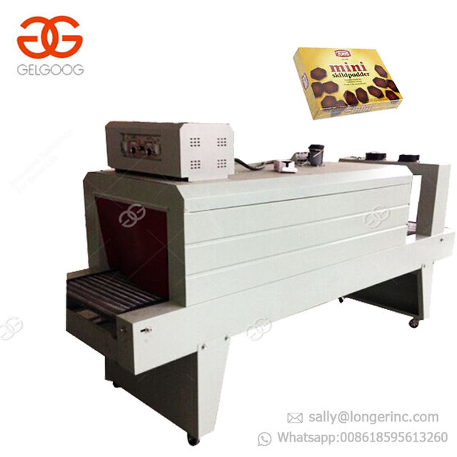 GELGOOG Equipment Carton Box Pet Bottle Wrap Packing Thermal Heat Shrink Wrapper Small Shrink Pallet Shrink Wrapping Machine