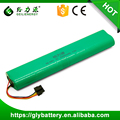 GLE SC Tape NIMH 12v 3500mah Vacuum Cleaner Rechargeable Battery Pack For Neato Botvac