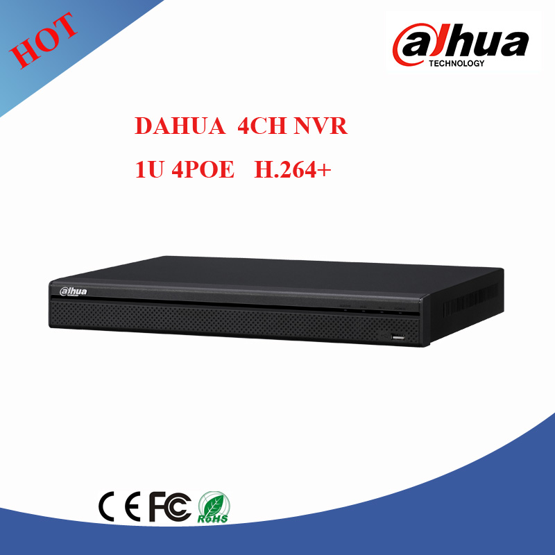 New Products dahua 8ch NVR with 2HDDS dahua h.265 nvr cctv nvr support 8mp IP camera NVR2104HS-P-S2