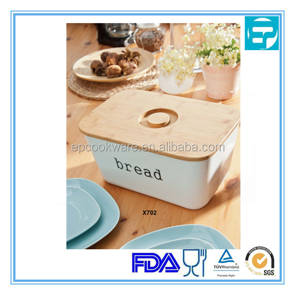 Iron bread stroage box set with lid
