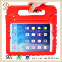 for ipad 5 stand cover EVA Foam Kids Child Proof Hot Pink Kickstand Case