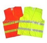 Reflective safety protective vest