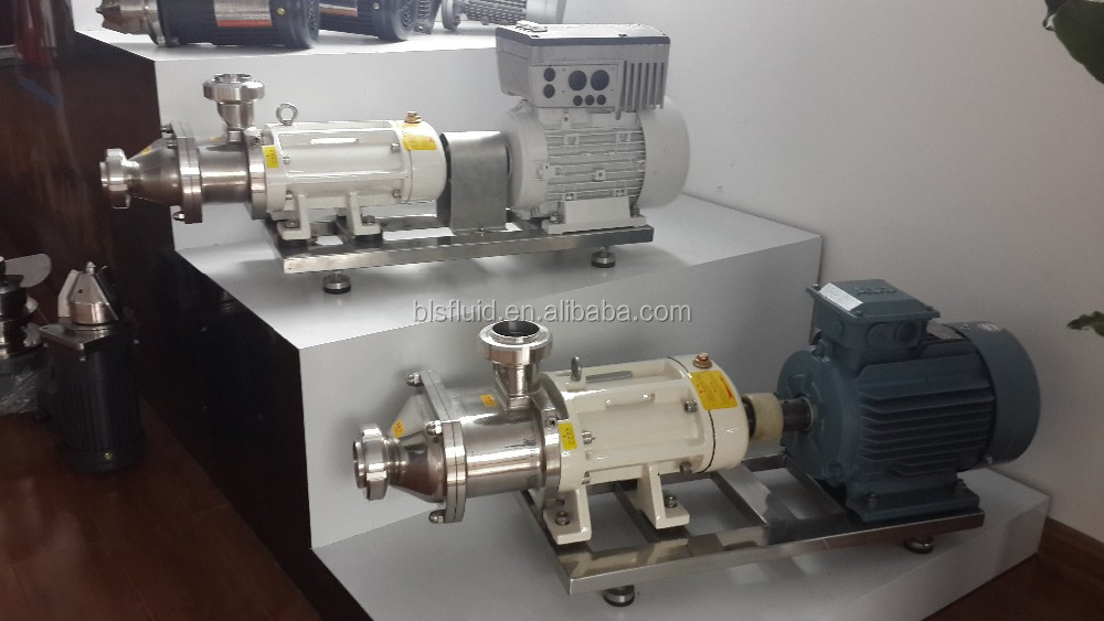Progressive Cavity and Twin Screw Pumps for cream