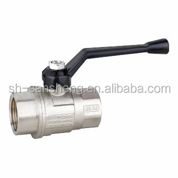Water Media and High Pressure Pressure brass ball valve 3/4/Copper ball valve price
