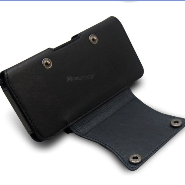 Belt clip original leather pouch case cover holster wallet for Apple iPhone 5S 5C