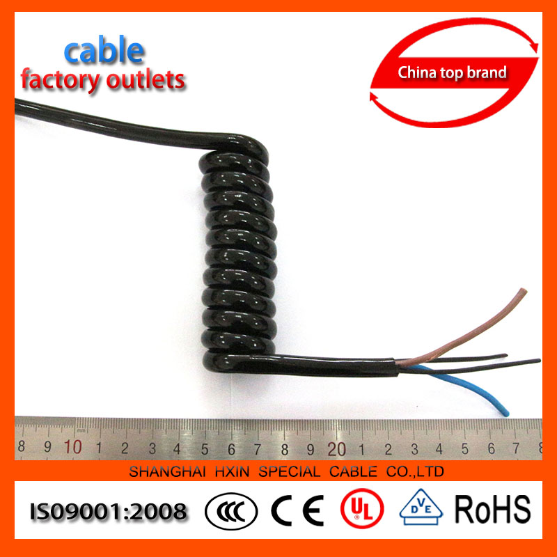 China Manufacturer 3 core 16 awg power cord extension cables PUR insulated 16 awg power cord extension cables