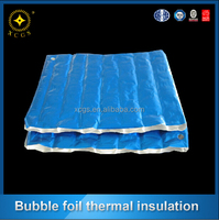 Blue Coating Big Bubble Thermal Insulation Multi-Layer Air Bubble Film
