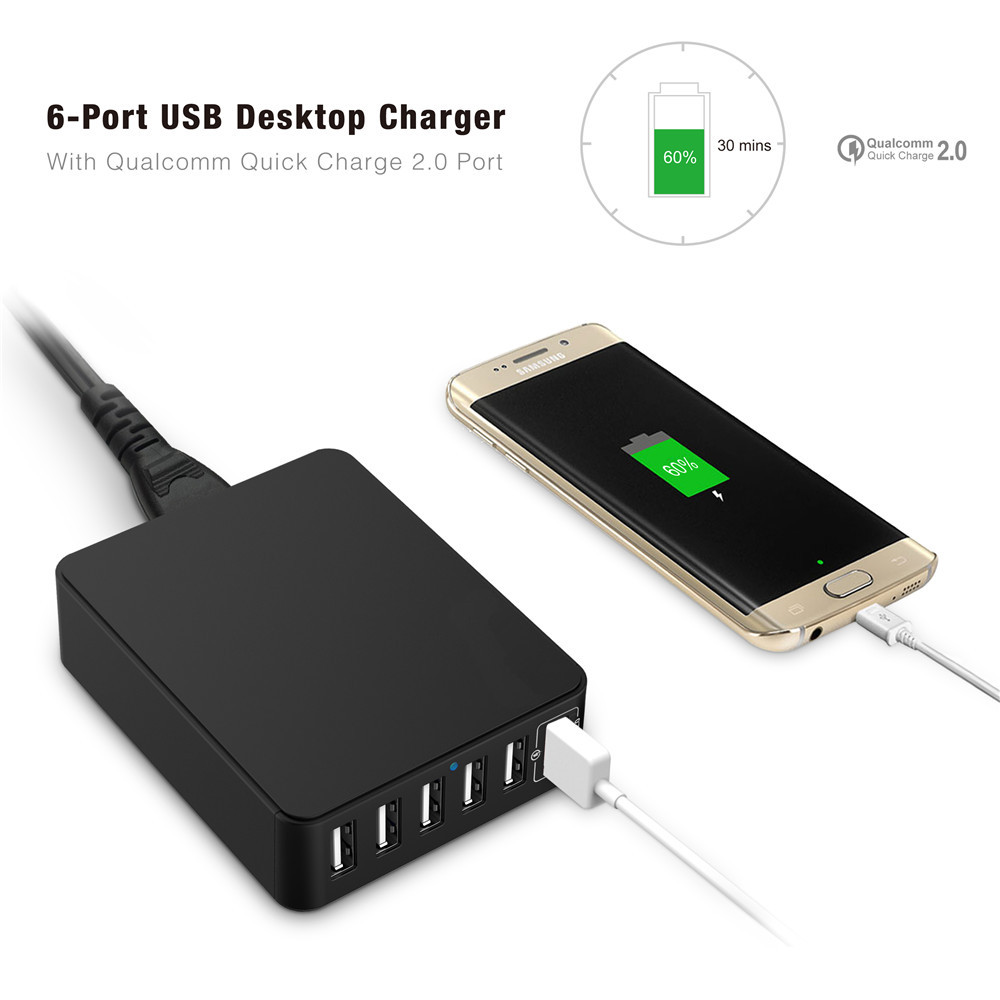 multi usb charger station buy multi usb charger station protable 6 ports multi usb charger. Black Bedroom Furniture Sets. Home Design Ideas